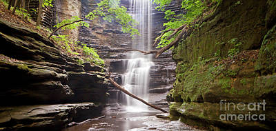 Photograph - 1454 Lake Falls Pano by Steve Sturgill