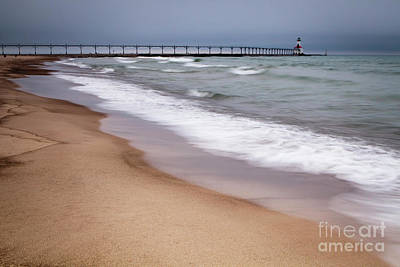 Photograph - 1458 Michigan City Lighthouse by Steve Sturgill