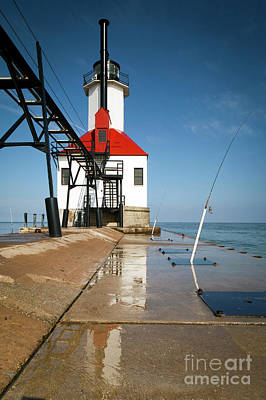 Photograph - 1460 St. Joseph Michigan Lighthouse by Steve Sturgill