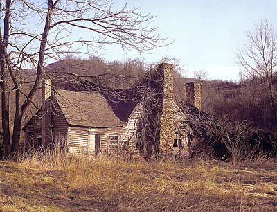 Photograph - 146109 Abandoned House In The Appalachian Mountains by Ed Cooper Photography