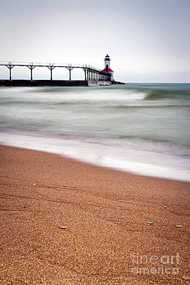 Photograph - 1462 Michigan City Lighthouse by Steve Sturgill
