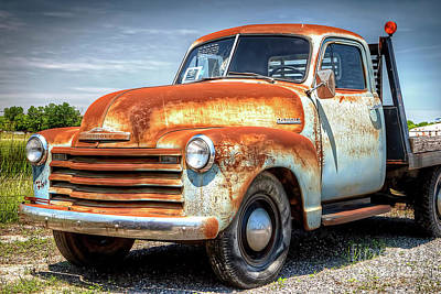 Photograph - 1463 Old Chevy Truck by Steve Sturgill