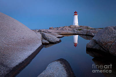 Photograph - 1464 Peggys Cove Lighthous by Steve Sturgill