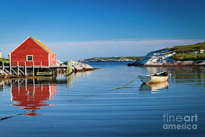 Photograph - 1465 Peggys Cove Fishing Village by Steve Sturgill