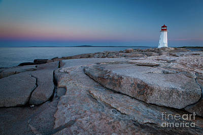 Photograph - 1467 Peggys Cove Lighthouse by Steve Sturgill