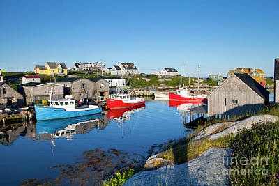 Photograph - 1468 Peggys Cove Fishing Village by Steve Sturgill
