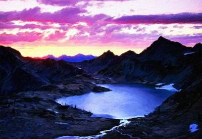 Sky Painting - Landscape Nature by Margaret J Rocha