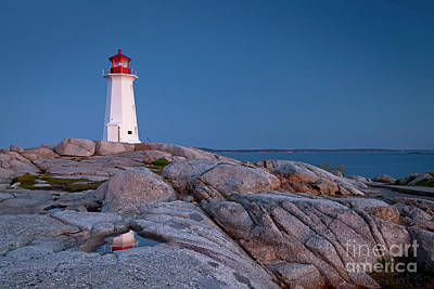 Photograph - 1470 Peggys Cove Lighthouse by Steve Sturgill
