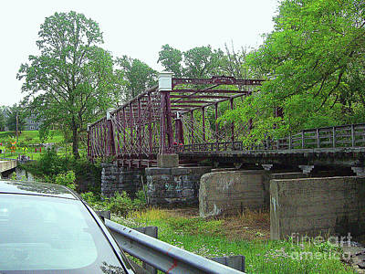 Photograph - 148 Year-old Railroad Bridge Near Ellicot City, Maryland by Merton Allen