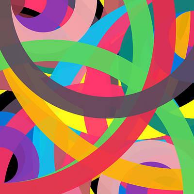 Drawing - 14930352 - Phi Word Circle by REVAD David Riley