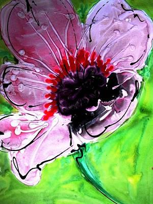 Caravaggio - Heavenly Flowers by Baljit Chadha