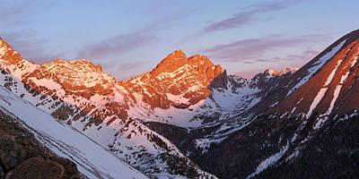 Er Photograph - 14er Sunrise by Aaron Spong