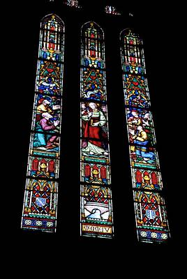 Photograph - 14th Century Windows by Eric Tressler