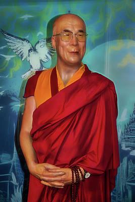 Photograph - 14th Dalai Lama by Miroslava Jurcik