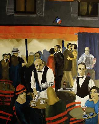 14th July Paris Art Print