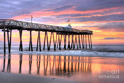 14th Street Pier Ocean City Nj Art Print