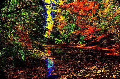 Yellowstone Digital Art - Autumn Colors by Aron Chervin