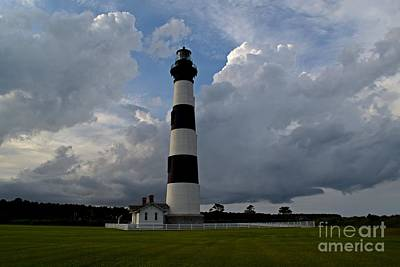 Photograph - Bodie Island Lighthouse by Ben Schumin