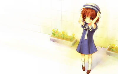 Fashion Digital Art - Clannad by Super Lovely