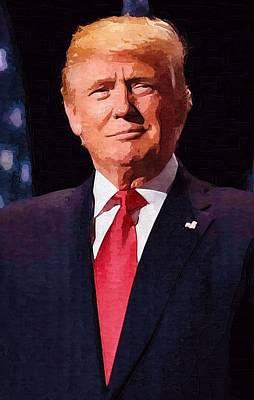 Digital Art - Donald Trump by Donald Trump