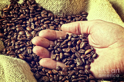 Photograph - Espresso And Coffee Grain by Gualtiero Boffi