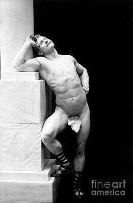 Eugen Sandow, Father Of Modern Art Print by Science Source