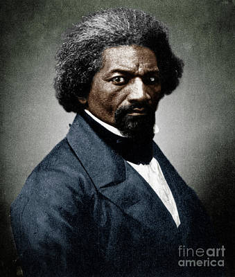 Photograph - Frederick Douglass by Granger