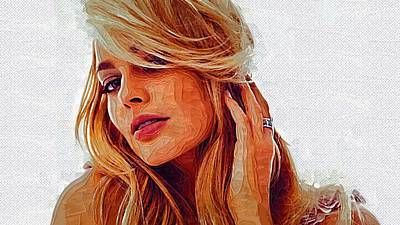 Hollywood Star Margot Robbie Art Print by Best Actors
