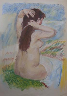 Pastel - Homage To Renoir by Masami Iida