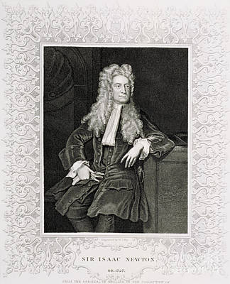 Integral Photograph - Isaac Newton, English Polymath by Science Source