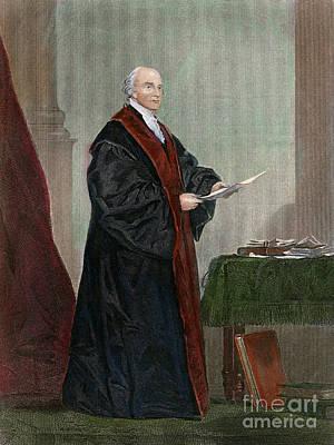 Drawing - John Jay, 1745-1829 by Granger