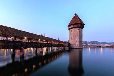 Luzern Photograph - Lucerne - Switzerland by Joana Kruse