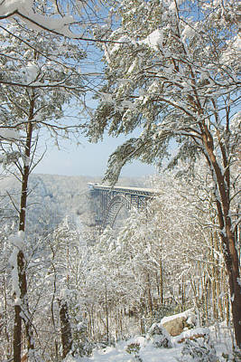 Photograph - New River Gorge Bridge by Mary Almond