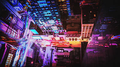 Science Fiction Photograph - New York City by Vivienne Gucwa