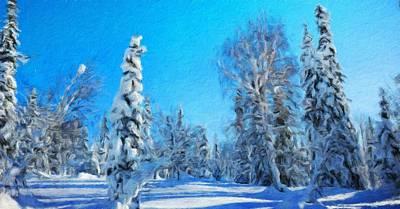 For Sale Painting - Oil Paintings Art Landscape Nature by Margaret J Rocha