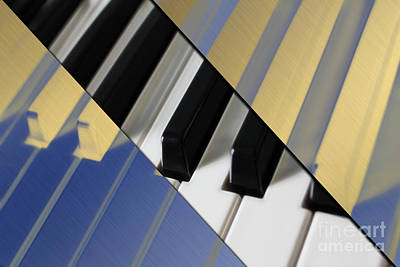 Piano Collection Art Print by Marvin Blaine