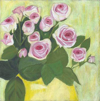 Painting - 15 Pinks by Arlene Crafton