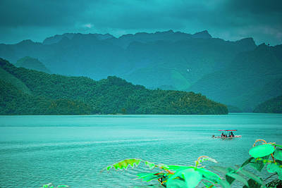 Photograph - Reservoir Scenery by Carl Ning