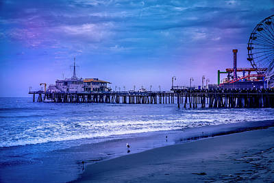 Photograph - Santa Monica Pier Collection- 18/36 by Gene Parks