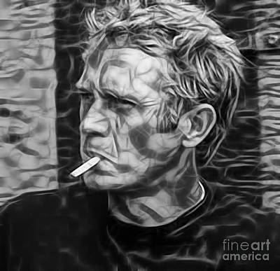 Movie Art Mixed Media - Steve Mcqueen Collection by Marvin Blaine