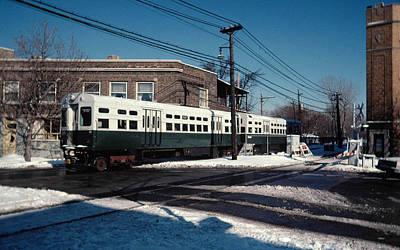 Transportation Digital Art - Train by Maye Loeser