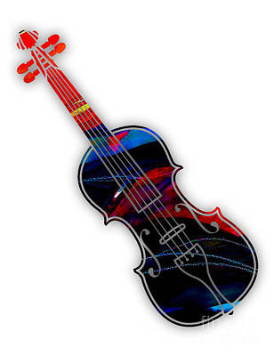 Violin Collection Art Print by Marvin Blaine