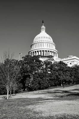 Photograph - Washington Dc Capitol Hill Building by Brandon Bourdages
