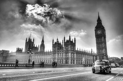 Westminster Bridge London Art Print by David Pyatt