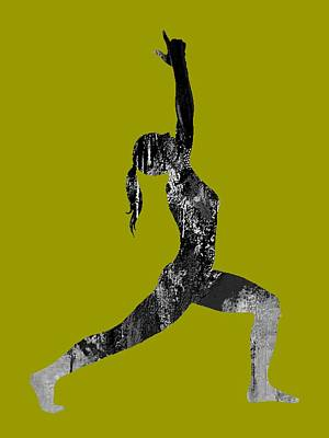 Mixed Media - Yoga Collection by Marvin Blaine