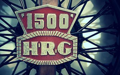 Photograph - 1500 Hrg Emblem by Joseph Skompski