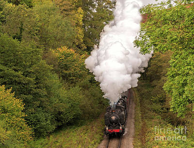 Photograph - 1501 Gwr Pannier  0 - 2 - 0  by David  Hollingworth