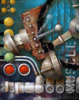 Painting - 15.016 - Raw Muscle by Ken Berman