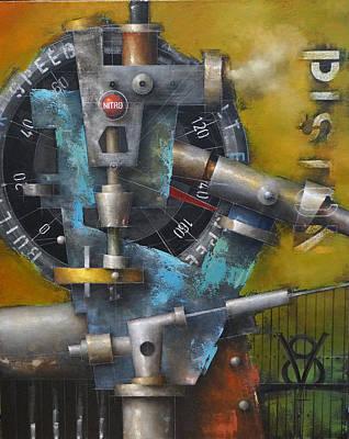 Painting - 15.017 - Built For Speed by Ken Berman