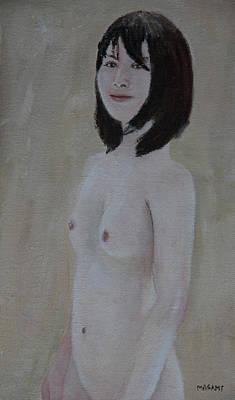 Painting - Nude Study by Masami Iida